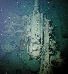 German u boat U-166 sank in Gulf of Mexico
