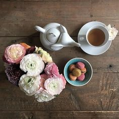 tea time with elefant und macarons