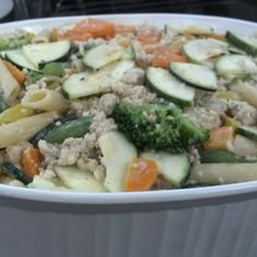 Healthy Chicken Vegetable Casserole | MyRecipes.com