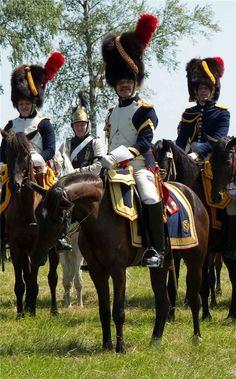 Horse Grenadiers the French Imperial Guard (Granatieri a cavallo della guardia imperiale francese)