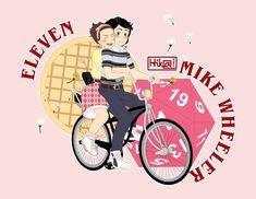 Stranger Things - Eleven and Mike by HikaTamika.deviantart.com on @DeviantArt