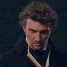 "Jonas in the trailer of ""Andrea Chénier"", 2015."