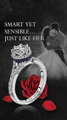 Exquisite yet affordable engagement rings from #LoveMyRomance