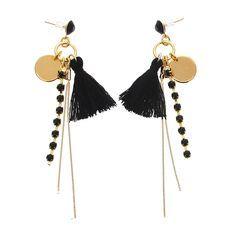 L'incontournable pompon !#lacabaneaperles #boucles d'oreilles #bijouafairesoimeme