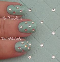 The PolishAholic: Cellairis Nail Art Series #1: Studded Quilting! Tutorial + Giveaway!