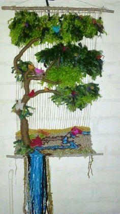 Art Fibres Textiles, Textile Fiber Art, Weaving Textiles, Weaving Art, Tapestry Weaving, Loom Weaving, Hand Weaving, Textiles Techniques, Weaving Techniques
