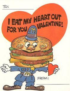 The hamburglar can't love you like I can!