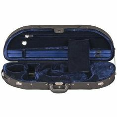 Heritage Go! Viola Case Black Blue 15-155 by Heritage. $119.00. 677X Heritage Go! A unique departure from traditional case designs, this case is lighter and easier to store. The foam shell guards against temperature changes and impact. Black nylon cover with dark blue or dark red cotton velvet interior. The Go! also features two bow spinners, a built-in hygrometer, string tube, internal accessory pocket, a special shoulder rest compartment under the neck wit...