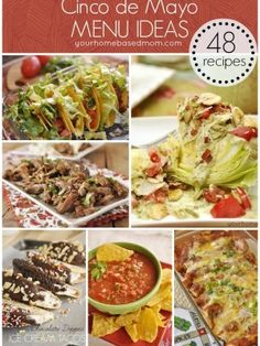 Cinco de Mayo - 48 Recipes