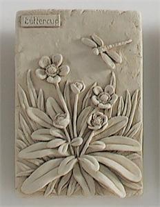 ceramic flowers making Clay Wall Art, Ceramic Wall Art, Ceramic Clay, Tile Art, Hand Built Pottery, Slab Pottery, Ceramic Pottery, Pottery Art, Clay Flowers