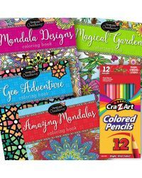 cra z art colored pencils 24ct 134 at walmart coloring for stress relief pinterest walmart and count - Walmart Coloring Books