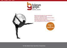 bikram-yoga Website designed by Cimplicity Web Design Studio, Bikram Yoga, Bespoke Design, Website, Custom Design