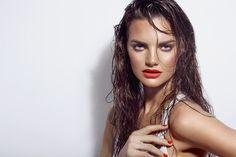 #makeup #summermakeup #orangelips #beauty #makeupartist #makeupSchool #fashion #trends Model Delfina Morbelli (dotto models) Ph Ines Garcia Baltar