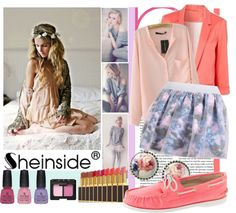 """""""Pastels contest by Sheinside.com"""" by naomimjc ❤ liked on Polyvore"""