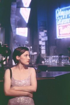 """Kelly Macdonald in """"Trainspotting"""" 1996. """"You can't stay in here all day dreaming about heroin and Ziggy Pop."""""""