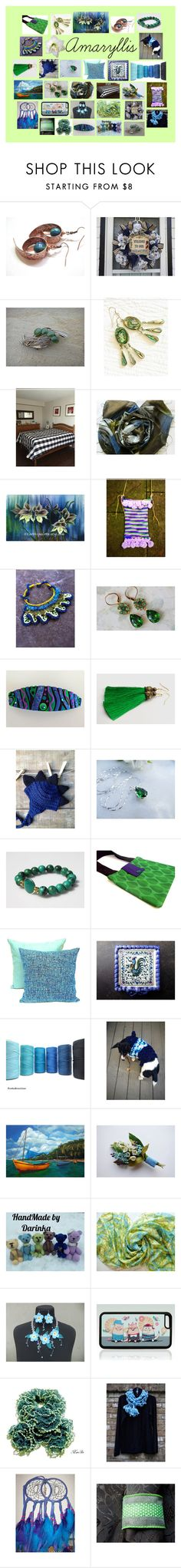 """""""Amaryllis: Stunning Etsy Gifts"""" by paulinemcewen ❤ liked on Polyvore featuring Corgi and vintage"""
