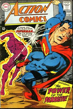 "comicbookcovers: ""Action Comics #361, March 1968, cover by Neal Adams """