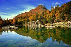 "ph. ©Marco Sassone ""Autunno al Lago Saoseo... """