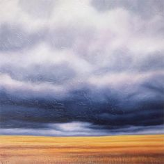 Canadian artist Ian Sheldon - new to me but his skies are utterly inspiring.