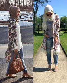 Kimono Hijab Summer Fashion 2015