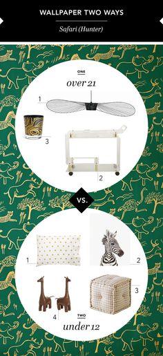 Wallpaper Two Ways: Safari (Hunter)
