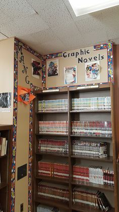Advertising graphic novels and manga