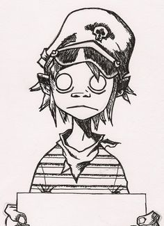 how to draw the gorillaz - Google Search