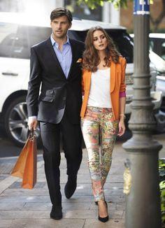 Olivia Palermo & Johannes Huebl - OTTO fall 2013 winter 2014 campaign
