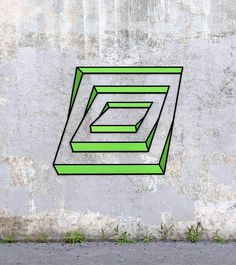 Perspektivische Tape Art von Aakash Nihalani www. Illusion Kunst, Illusion Drawings, 3d Drawings, Tape Art, Street Installation, Amazing Optical Illusions, Optical Illusion Art, Optical Illusions Drawings, 3d Street Art