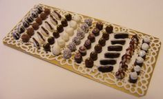 12TH SCALE DOLL HOUSE LARGE TRAY OF LUXURY by Cherryberryminis