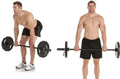 Deadlifts are great for lower body strength