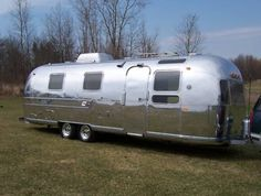 My Airstream once upon a time before the Sea salt got to it.