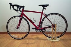 This is to make a simple bike stand from the FROSTA stool.