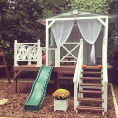 some of our favorite, super inspiring reader versions of the handmade hideaway. home playhouse handmade hideaway - reader love - The Handmade Home Backyard Playhouse, Build A Playhouse, Backyard Playground, Backyard Patio, Kids Playhouse Plans, Outside Playhouse, Kids Outdoor Play, Backyard For Kids, Outdoor Fun