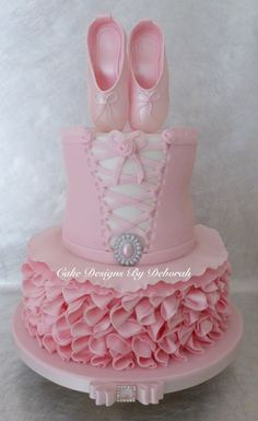Ballet Tutu Cake - Cake by Deborah - CakesDecor