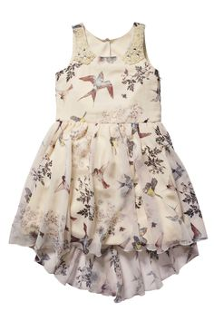 Buy Bird Print Dress (3-16yrs) from the Next UK online shop