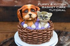 puppy_kitten_basket_cake_tutorial