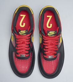 new style 0b16b e00ec Nike Air Force 1 CMFT Signature QS  Mask of Kyrie  Pack (Detailed Pics