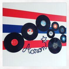 Aaron bedroom - patriotique - vinyls