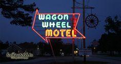 Wagon Wheel Motel on Route 66 in Cuba, Missouri. http://usroute66.wordpress.com/route-66-missouri/