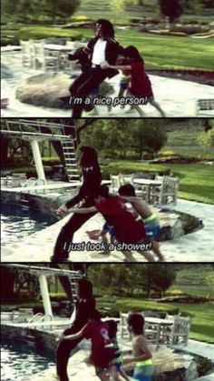 Michael at his home Neverland