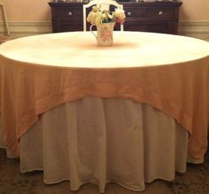 How To Instructions For Anyone To Make A Beautiful Tablecloth