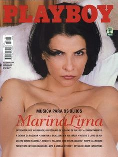 Playboy Brazil November 1999 Cover featured by Marina Lima