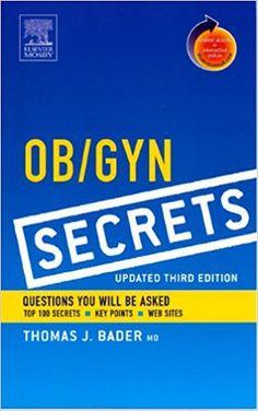 Ob and Gyn Secrets 3rd Edition