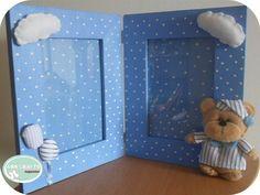 Porta retrato Ursinho No Mundo dos Sonhos I by AnnCrafts Artesanato, via Flickr