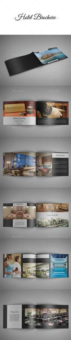 Hotel Brochure Templates | Hotel Brochure, Brochure Template And