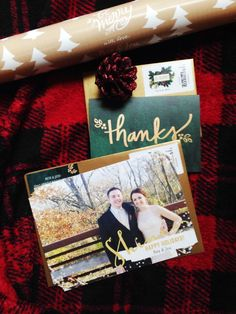 Don't forget to say thanks for those holiday gifts this year. #stationery #holiday