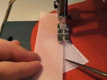 マジック テープ 縫い 方
