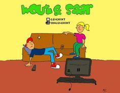Volg jij de avonturen van Wout en Saar op de site?