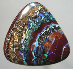 Boulder opal, the things of nature are beautiful